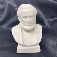 Vintage 90s Prophet Brigham Young Ceramic Bust Figure Mormon LDS