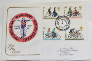First Day Cover Tour Of Britain Raleigh Handstamp