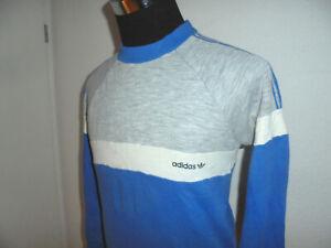 vintage 80s Adidas Ventex sweatshirt pullover oldschool sport sweater 80er S