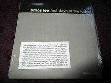 Amos Lee Last Days At The Lodge EMI Advance Music 50999 20741921 Promo CD Album