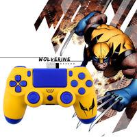 X-Men Wolverine Custom PS4 Slim Pro Controller Shell Case Housing Mod Kit Button