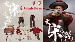 Song Dynasty Archer bonus Head Sculpt Metal Armor 1/6 KongLingGe KQ001 USA
