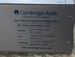 Cambridge Audio 640C CD Player