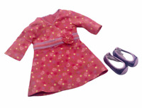 American Girl CHRISSA Limited Ed. 2009 Meet Outfit Flower DRESS SHOES Retired