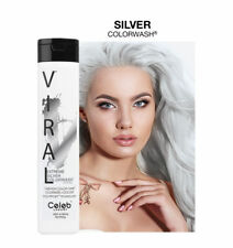 CELEB Luxury VIRAL Semi Permanent Colorwash Shampoo Extreme SILVER 244ml **NEW**
