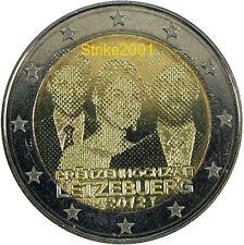 2 EURO COMMEMORATIVO LUSSEMBURGO 2012 Matrimonio Principe