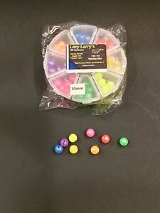 Lazy Larry's E-Z Fish Beads Atomic Series , 8 Compartment, 10 mm
