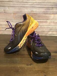 Puma Bioweb Elite Men's Running Shoes Orange Purple Size 10.5 Style # 186991 05