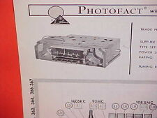 1965 CHRYSLER IMPERIAL 300 L NEWPORT PLYMOUTH DODGE AM-FM RADIO SERVICE MANUAL