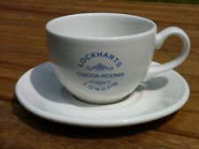 More details for lockharts cocoa rooms replica cafe cup and saucer c19th victorian era early 20th