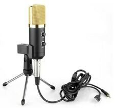 Comes with reverb computer microphone, USB condenser microphone, network karaoke