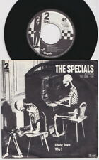 The SPECIALS * Ghost Town * 1981 Dutch - German 45 * 2TONE SKA SKINHEADS *