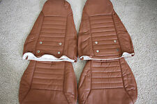1970-1978 Datsun 240Z/260Z/280Z Synthetic Leather Seat Covers Burnt Orange