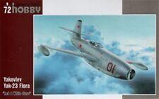 """Special Hobby 1/72 Yakovlev yak-23 FLORA """" Rojo y Blanco Estrellas"""" #72248"""