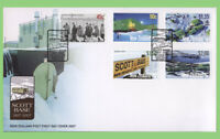 New Zealand 2007 50th AQnniversary of Scott Base set on First Day Cover