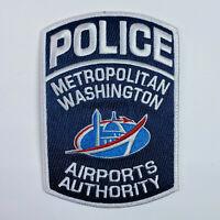 Airports Authority Metropolitan Washington DC Police Patch (A)