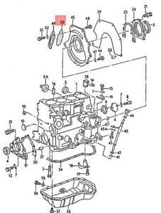 Genuine Volkswagen Seal NOS Jetta Passat 1G 31 037103649