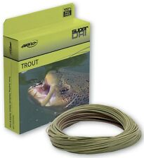 AIRFLO BANDIT TROUT WF-6-F #6 WT CAMO/OLIVE WEIGHT FORWARD FLOATING FLY LINE