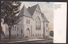 Circa 1907-1915 Vintage Postcard Methodist Church WINGHAM, Ontario, Canada