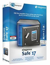 Steganos Safe 17  ESD / Download Version für 5 PC inkl. Driver Genius 15