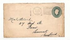VV149 1931 Canada Bienfait Stationery Cover PTS