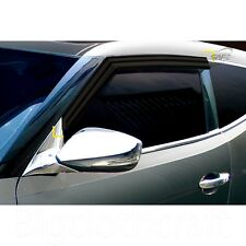 Smoke Side Window Vent Visors Rain Guards for Hyundai Veloster 11 17