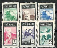 Marocco Edifil #400-405 ** 1955