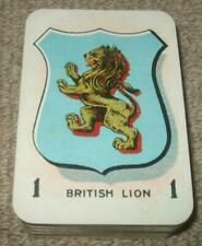 More details for blaze card game antique johnson brothers british nations game c1910