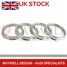66.6 - 57.1 mm / Hubcentric Aluminium Spigot Hub Ring Set