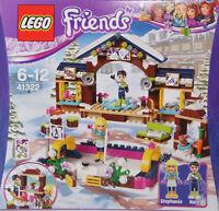 LEGO Friends 41322 Eislaufplatz im Wintersportort Bühne Nate Stephanie Moca NEU