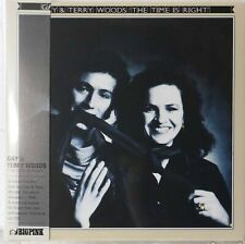 Gay & Terry Woods-The Time is Right UK folk psych mini lp cd