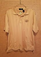 Eco Tec Roseburg Country Club Golf Polo Shirt Mens Size XL Short Sleeve Gold