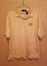 Eco Tec Roseburg Country Club Golf Polo Shirt Mens Size XL Short Sleeve Gold