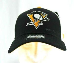 Pittsburgh Penguins NHL Black / White Baseball Cap Snapback