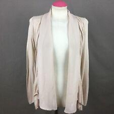 Zara Biege Open Front  Cardigan Size Small Uk 8-10