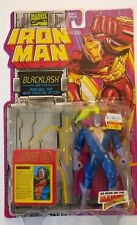 MARVEL COMICS IRON MAN BLACKLASH W/ NUNCHAKU AND WHIP CRACKING ACTION 1994 NIP