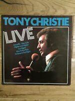 Tony Christie – Live  MCF 2703 Vinyl, LP, Album