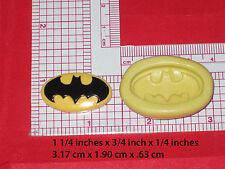 Bat Man Logo Superheroes Silicone Mold #35 For Chocolate Candy Resin Fimo Soap