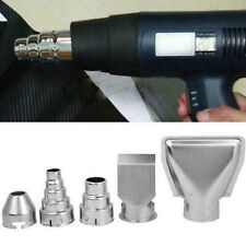 5pcs Stainless Steel Hot Air Gun Nozzles Durable Heat Blower Accessories