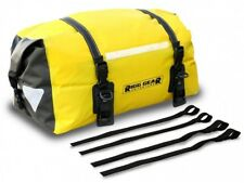 Motorcycle Dry Waterproof Rear / Tail / Seat Bag - Nelson Rigg Sahara -  Yellow