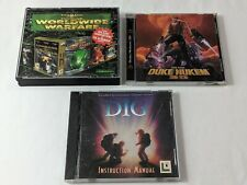 The Dig, Duke Nukem 3D & Command & Conquer Red Alert - PC Games