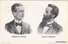 # PERSONAGGI: GUGLIELMO MARCONI - GALILEO FERRARIS