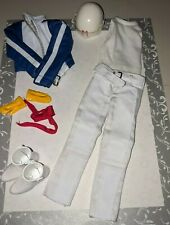 PANTS BARBIE MATTEL SPEED RACER TRIXIE MODEL MUSE CROP PANTS LEGGINGS CLOTHING