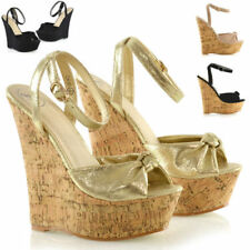 Wedge Evening & Party Standard Width (D) Heels for Women