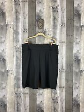 Hard Tail Black Jersey Pull On Shorts Size 18