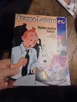 Partiel de France Loisir Les aventures de Tintin et Milou 4 pages