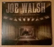 JOE WALSH Live At The Wiltern Theatre 1991 (CD neuf scellé/sealed) THE EAGLES
