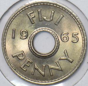 Fiji 1965 Penny 295813 combine shipping