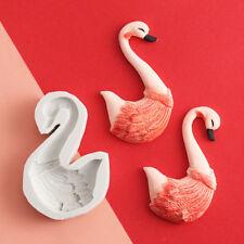 3D Flamingos Animals Shape Silicone Fondant Mould Cake Chocolate Cutter DIY Mold