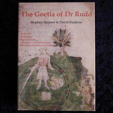 The Goetia of Dr Rudd Stephen Skinner 1st Edition Golden Hoard H/C EXPRESS POST